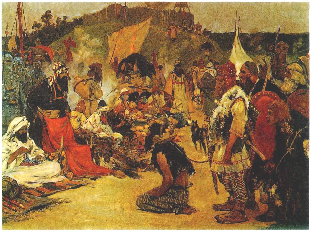 Занятия, общественный строй, верования восточных славян