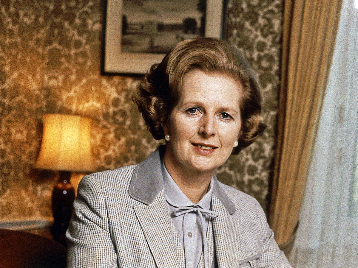 England Prime Minister Margaret Thatcher in September 1980. (AP Photo)
