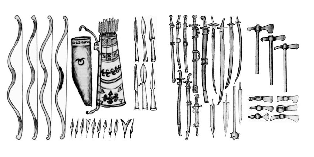 оружие татаро-монгол