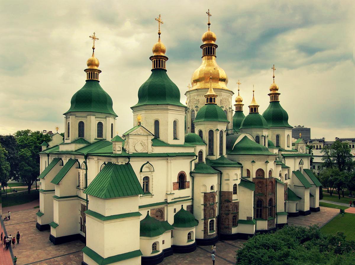 храм св.Сфоии в Киеве