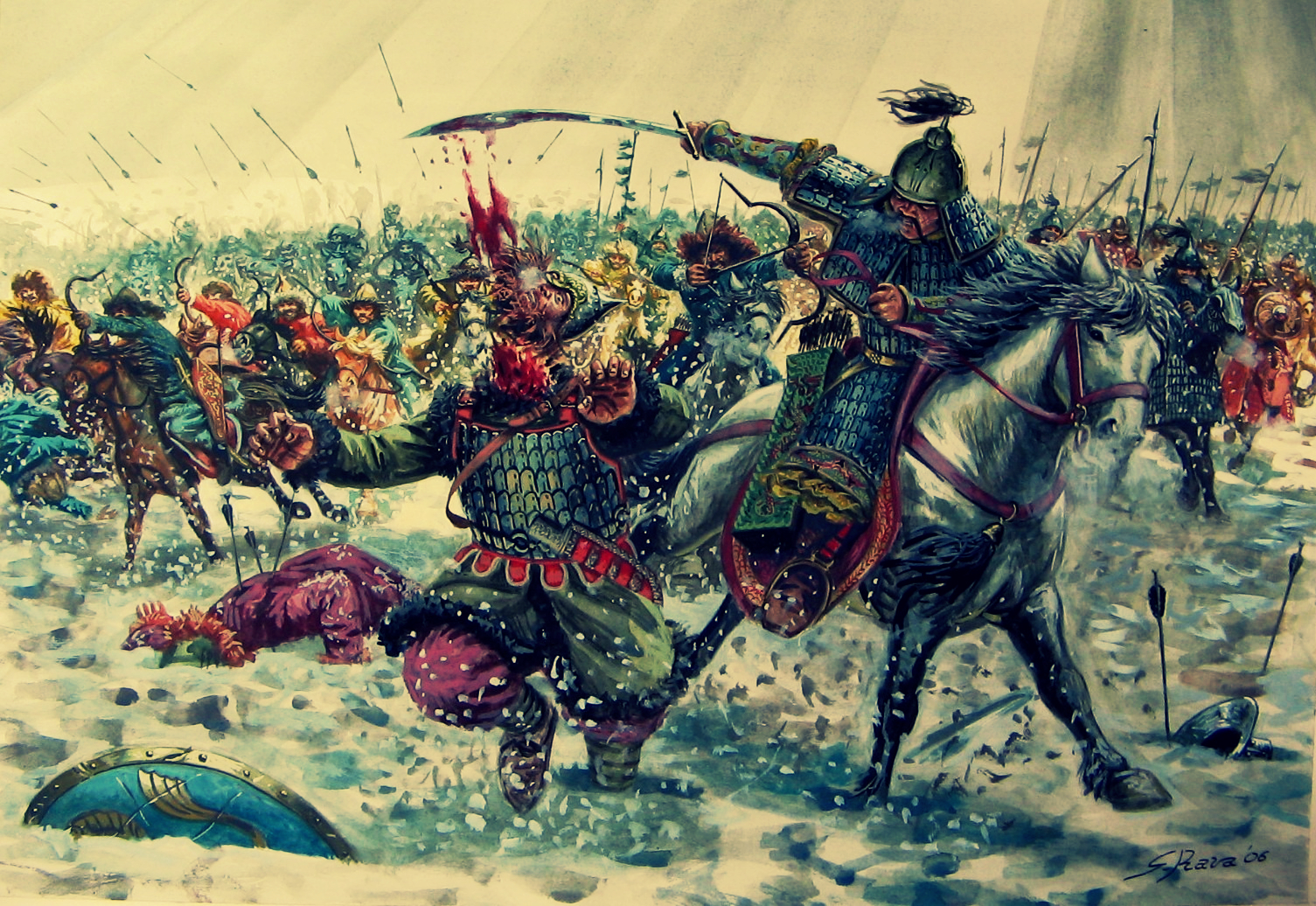 dbq the mongols how barbaric were the barbarians