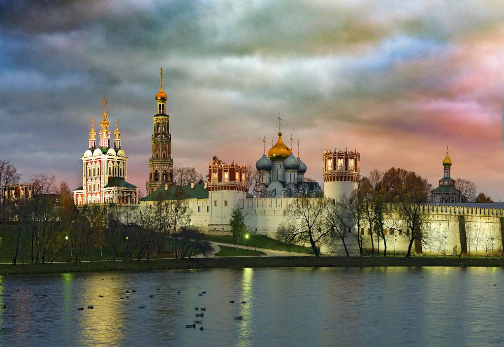 Новодевичий монастырь 2 - копия