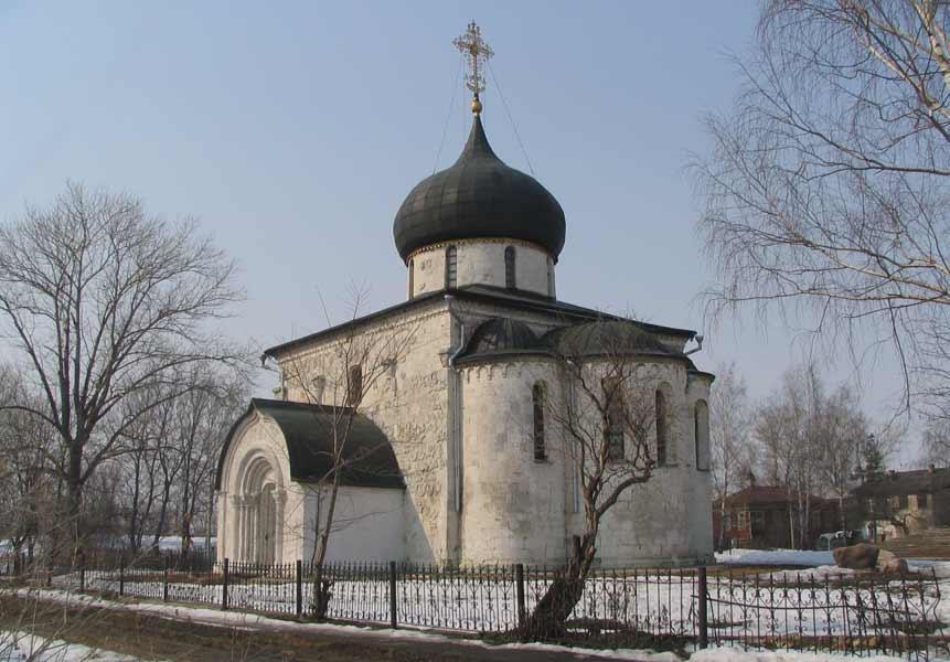 георгиевский собор в юрьеве-польском 2