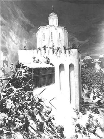 Взятие Владимира войсками хана батыя