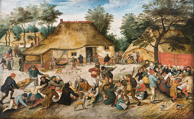 800px-Pieter_Brueghel_the_Younger_-_The_Peasant_Wedding_-_Google_Art_Project