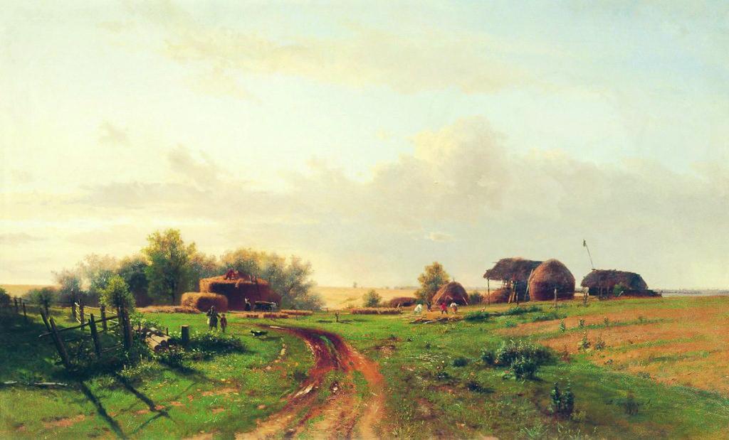 Lev_Kamenev_-_Harvest