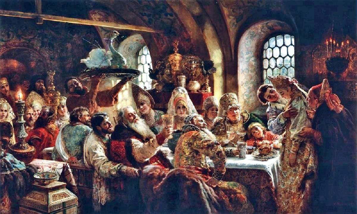 konstantin-makovsky-a-boyar-wedding-feast-in-the-17th-century-18831