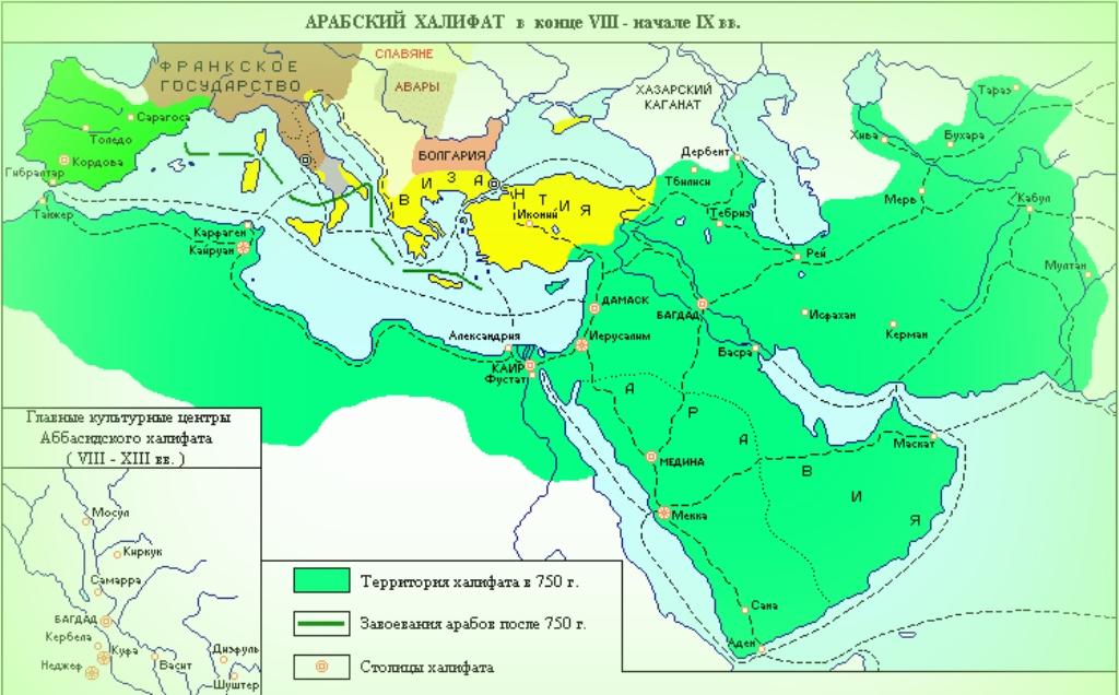 Арабский восток