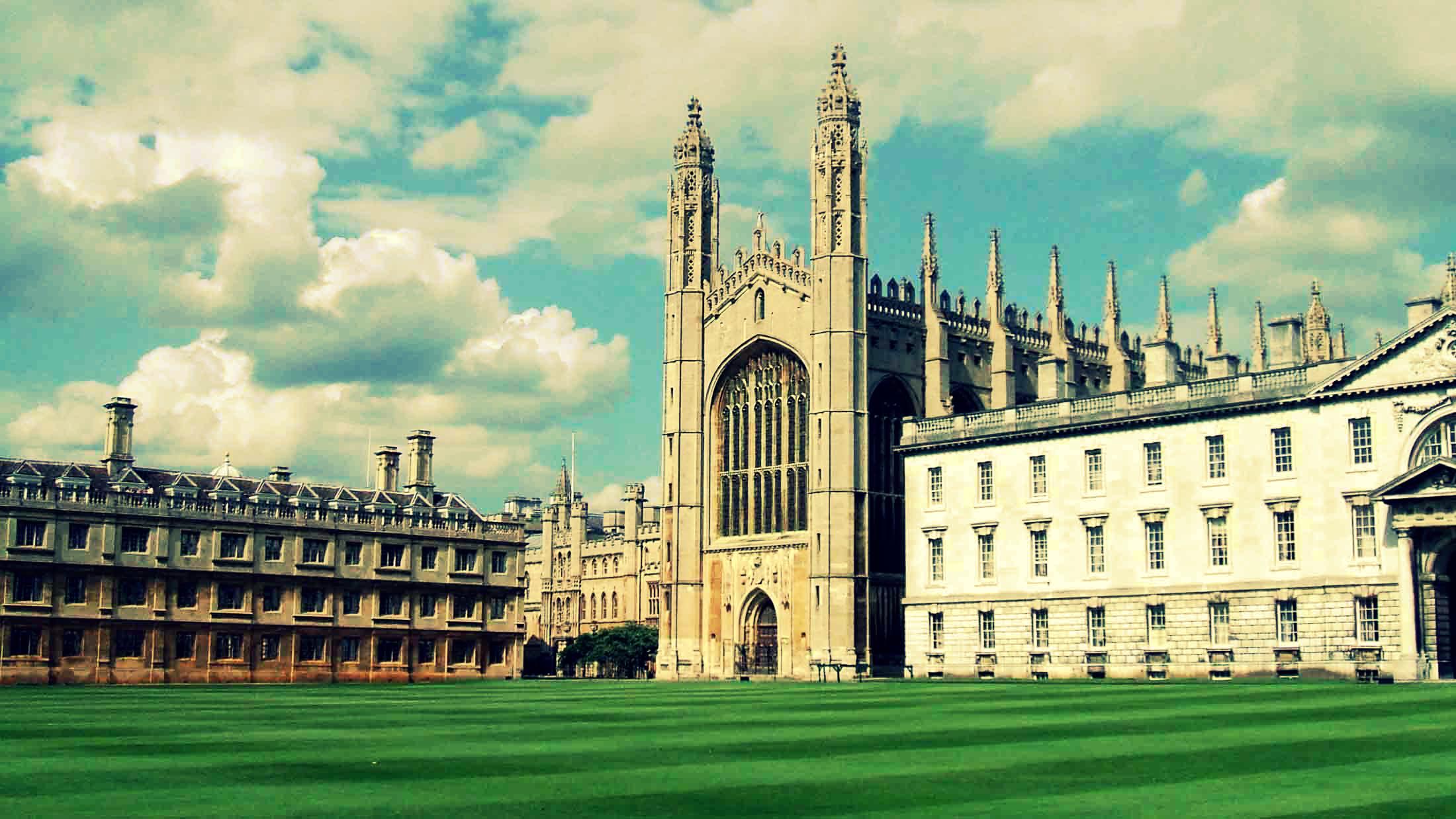 Кембриджский университет в Англии