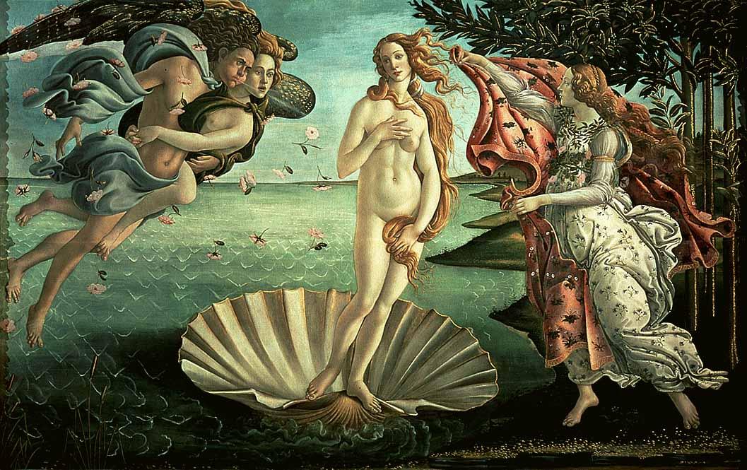 Боттичелли. Рождение Венеры