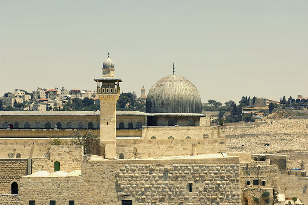 мечеть Аль-Акса Иерусалим 705 г. н.э.