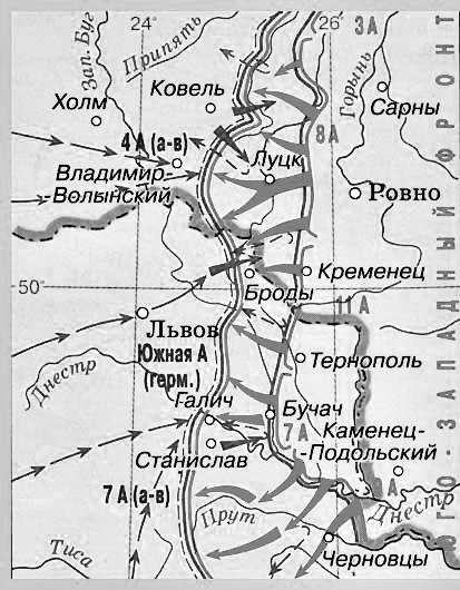 20. 1916 Brusilovskii_proryv