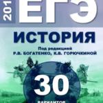 ЕГЭ-2019 История. 30 типовых вариантов