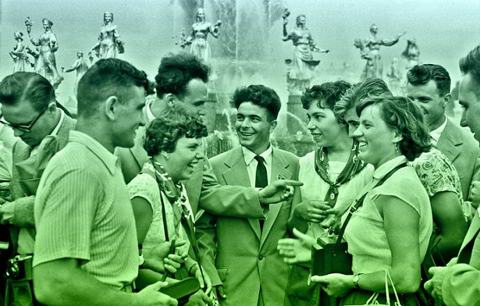 фестиваль молодёжи в 1957