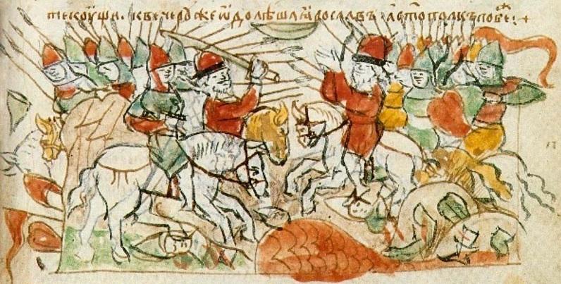 11. Битва на р.Альте радзивилловская летопись