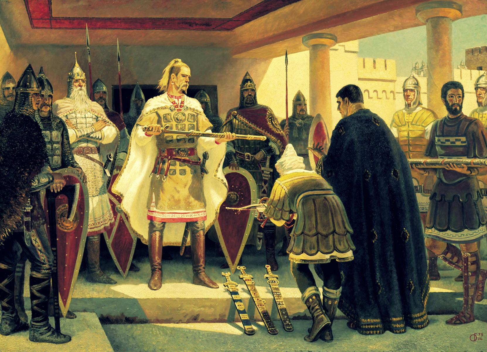 Международные связи Древней Руси
