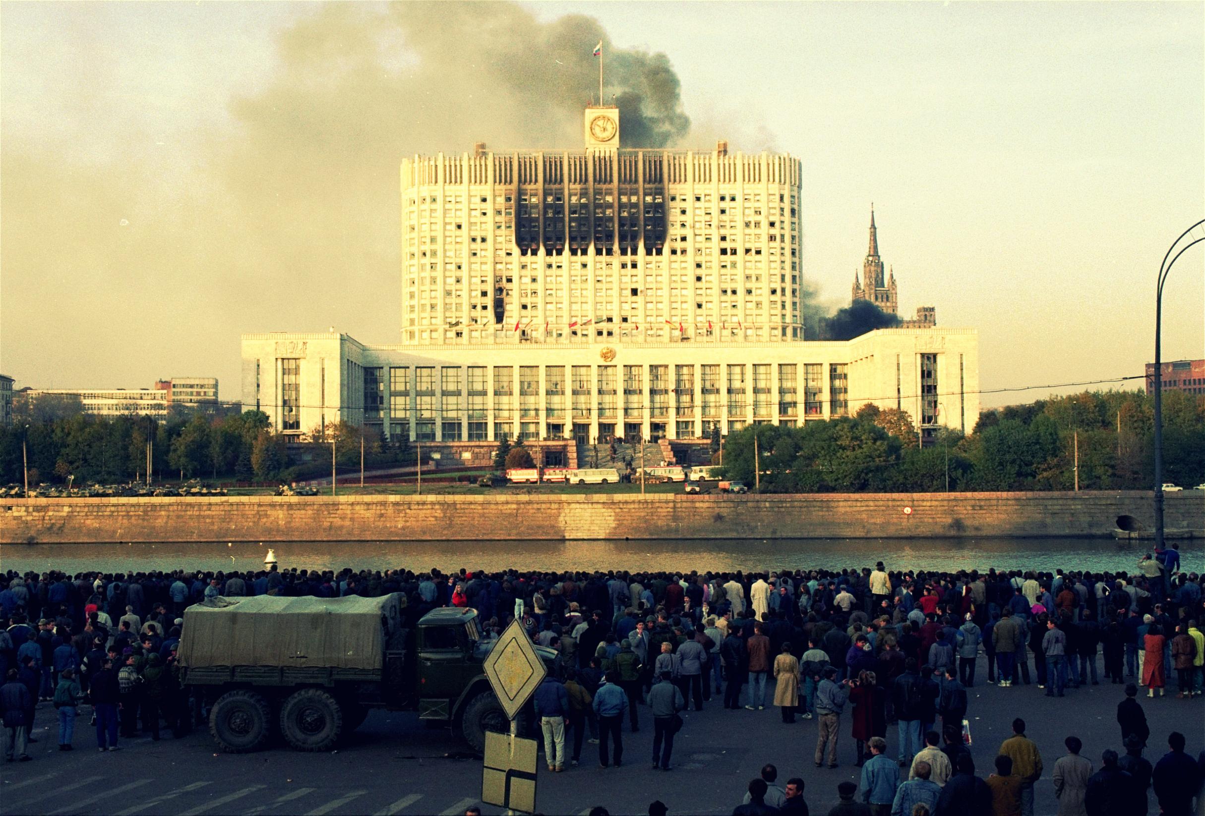Политический кризис сентября — октября 1993 г. Принятие Конституции Российской Федерации 1993 г. Общественно-политическое развитие России во второй половине 1990-х гг. Политические партии и движения Российской Федерации