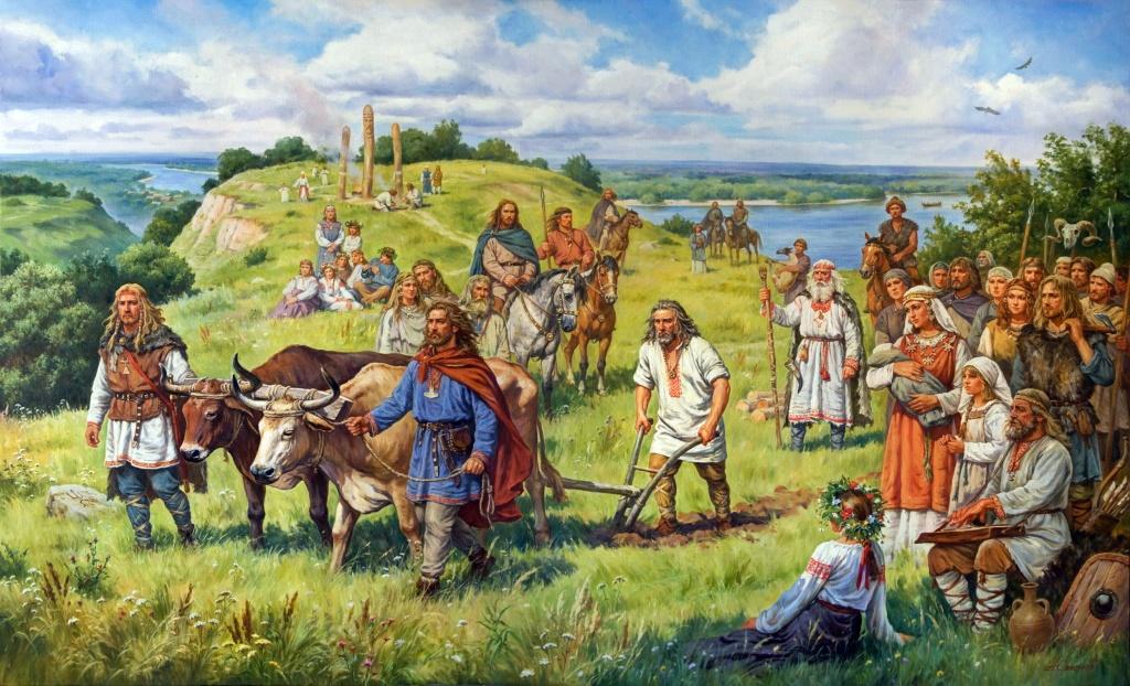 Древняя Русь Кий, Щёк, Хорив и Лыбядь