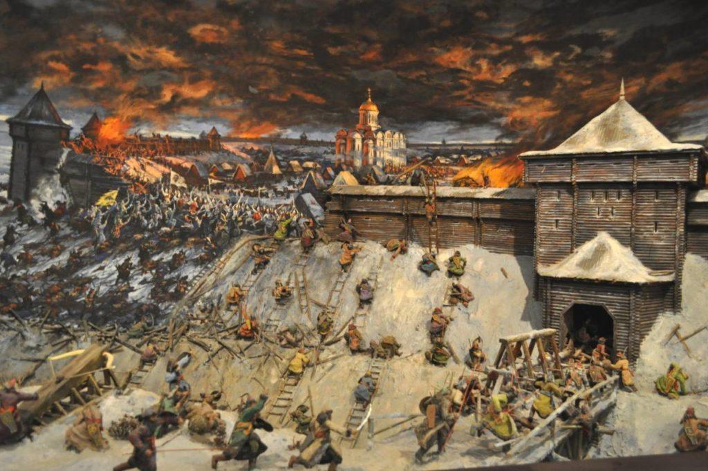 13. оборона Рязани в 1237 г.